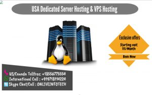 US Dedicated Server Hosting and VPS Server Hosting at very attractive price in USA