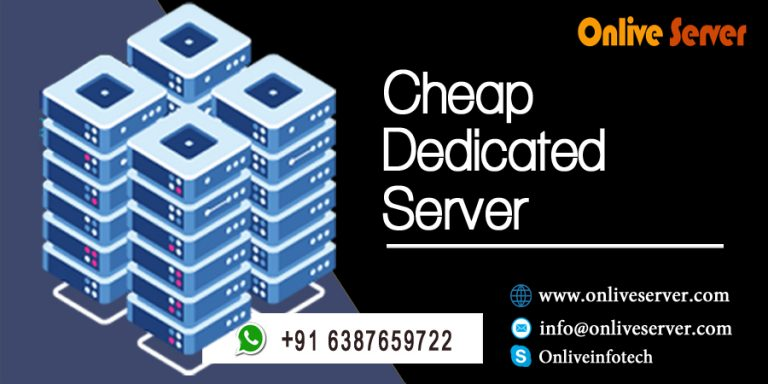 Feature of Cheap Dedicated Server Hosting in India
